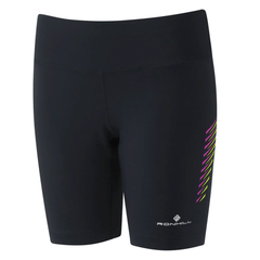 Ronhill Womens Stride Stretch Short | Black