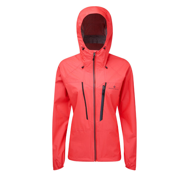 Ronhill Womens Infinity Fortify Jacket | Hot Pink/Charcoal