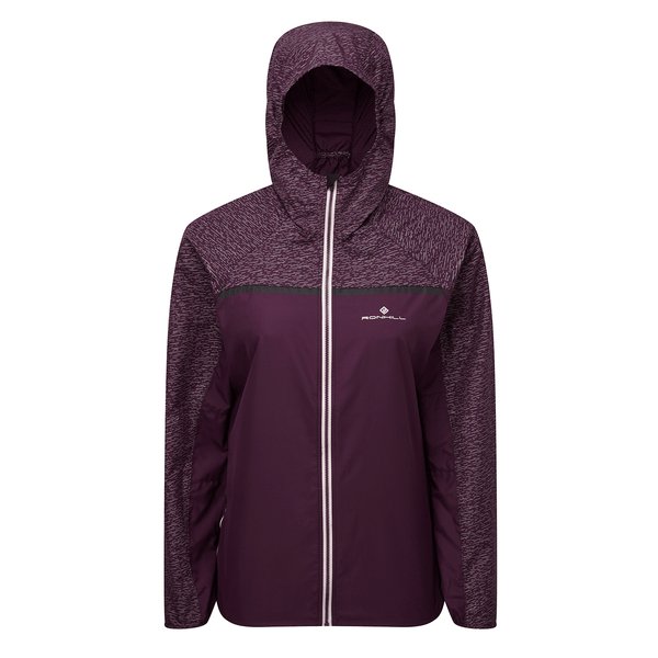 Ronhill Womens Momentum Afterlight Jacket | Aubergine/Blossom