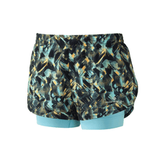 Ronhill Womens Momentum Twin Short | Web Print/surf