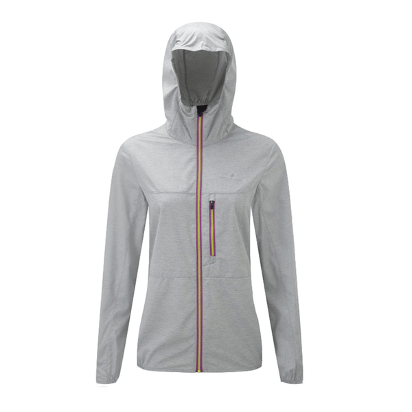 Ronhill Womens Momentum Windforce Jacket | Pebble Marl