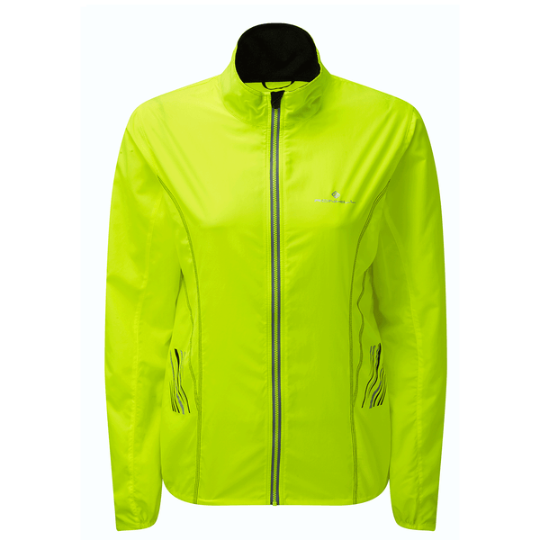Ronhill Womens Stride Windspeed Jacket | Fluo Yellow