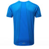 Ronhill Stride Short Sleeve Crew Mens | Electric Blue/Jaffa