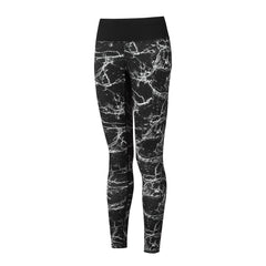Ronhill Womens Momentum Tight | Black Marble