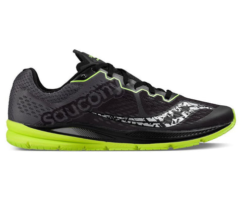 Saucony Fastwitch 8 Mens | Black/Citron