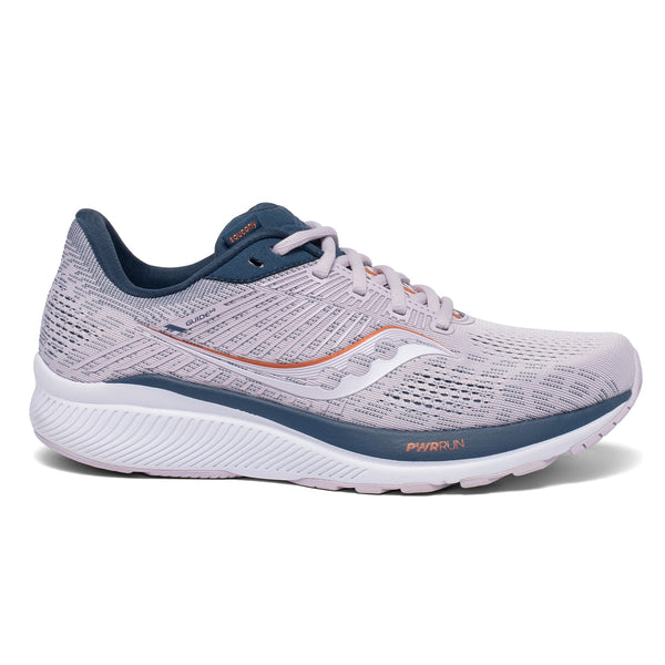 SAUCONY GUIDE 14 WOMENS | LILAC/STORM