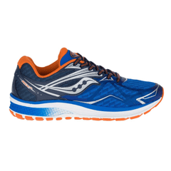 Saucony Ride 9 Boys | Blue/Orange