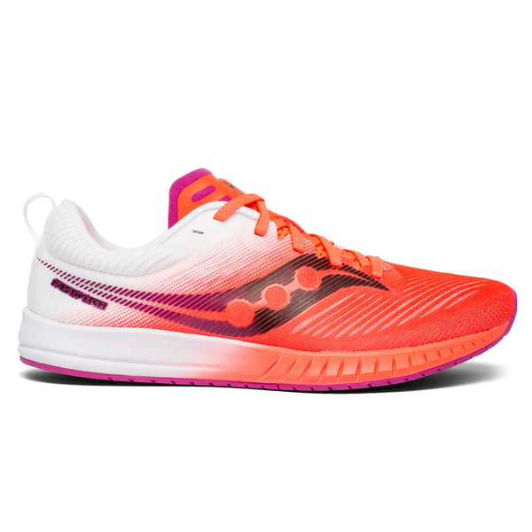 Saucony Fastwitch 9 Womens | Viz Red/Wht