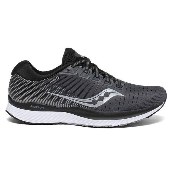 Saucony Guide 13 Mens | Black/white