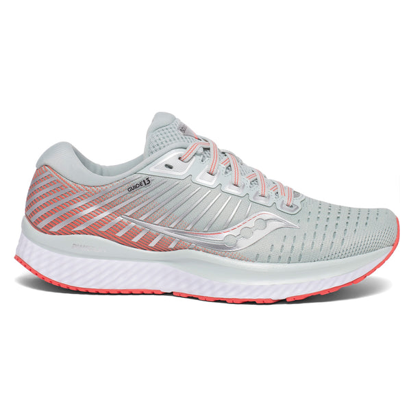 Saucony Guide 13 Womens | Sky Grey/Cor