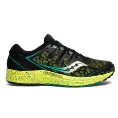 Saucony Guide Iso 2 Tr Mens | Black Citron