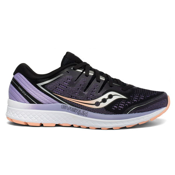 Saucony Guide Iso 2 Womens | Blk/Pur