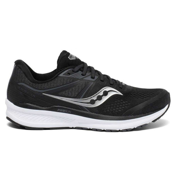 Saucony Omni 19 Mens | Black/white