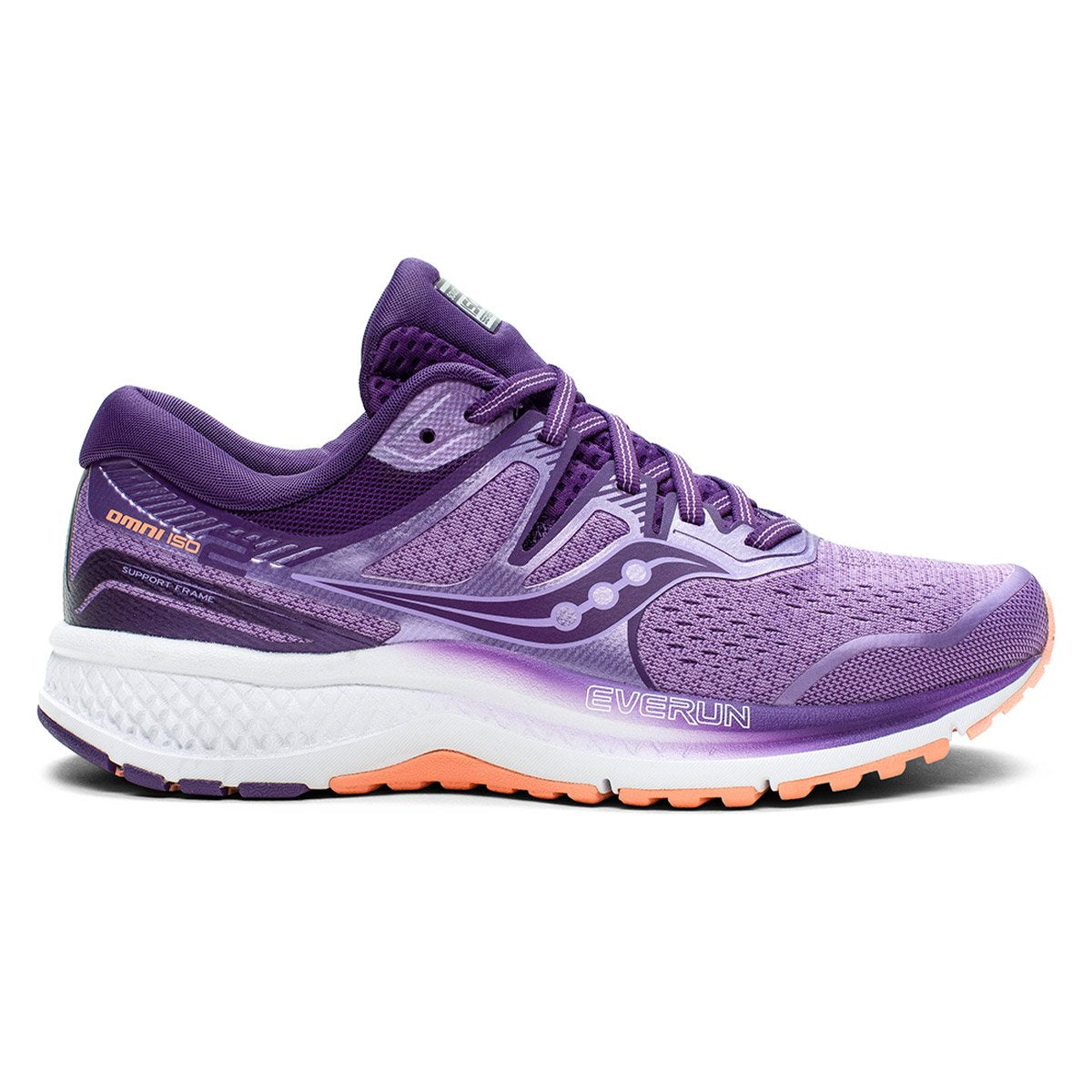 Saucony Omni Iso 2 Womens running shoes Purple Pink