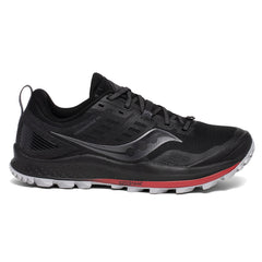 Saucony Peregrine 10 Mens | Black/Red