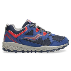 Saucony Peregrine Shield Junior | Navy/red
