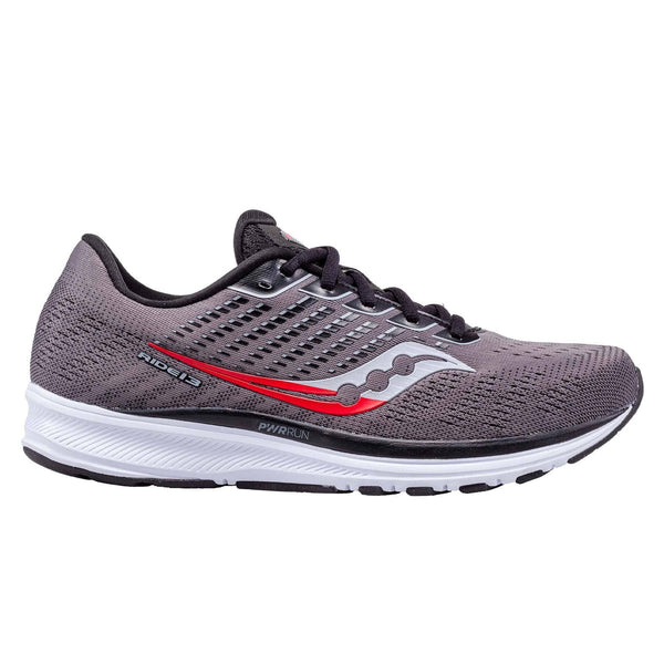 Saucony Ride 13 Mens | Charcoal/black