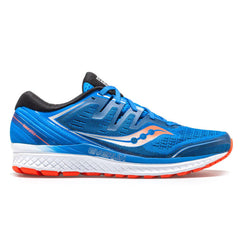 Saucony Guide Iso 2 Mens | Blue/Orange