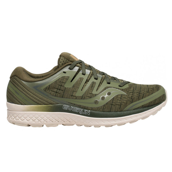 Saucony Guide Iso 2 Mens | Olive Shade
