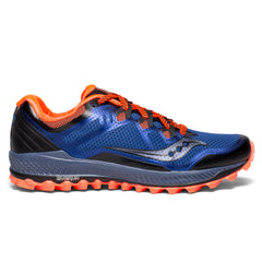 Saucony Peregrine 8 Mens | Blue / Black / Vizired
