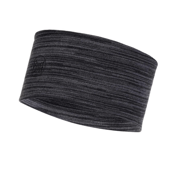Buff Merino Wool Headband | Castlerock Grey Multi Stripes