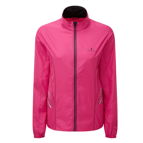 Ronhill Womens Stride Windspeed Jacket | Azalea Pink