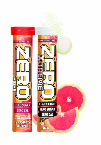 High 5 Zero Elecrtolyte Drink Tablets | Box Of 8 Tubes | Pink Grapefruit