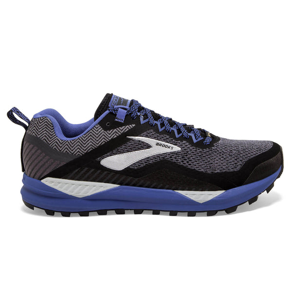 Brooks Cascadia 14 GTX Womens | Black/Grey/Blue