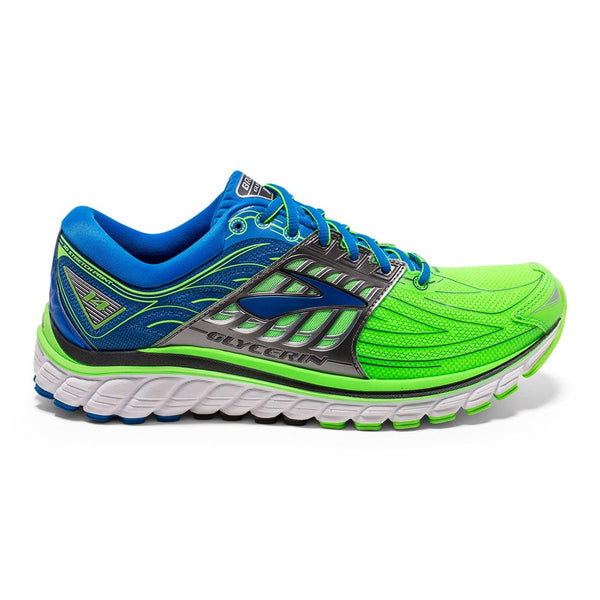 Brooks Mens Glycerin 14 | Gecko Green