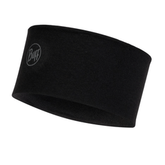 Buff Merino Wool Headband | Black