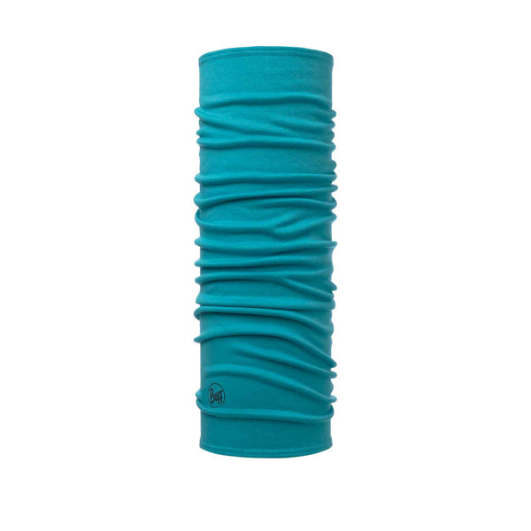 Buff Midweight Merino Wool | Solid Turquoise