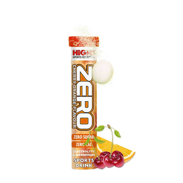 High 5 Zero | Single 20 Tablet Tube | Cherry Orange Flavour