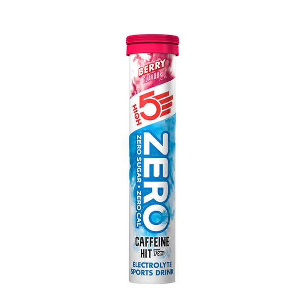 High 5 Zero | Single 20 Tablet Tube | Berry Caffeine