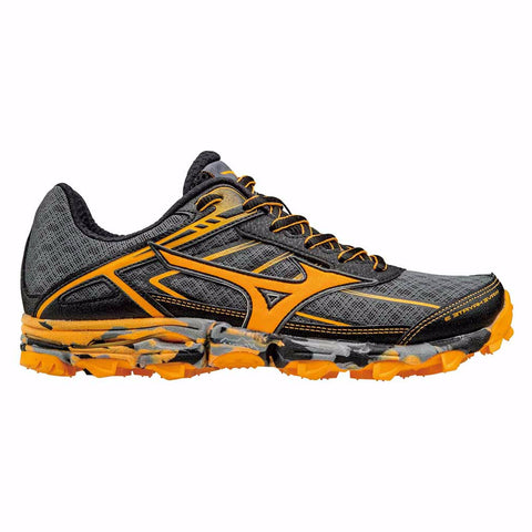 Mizuno Mens Wave Hayate 3 | Dark Shadow/Clownfish