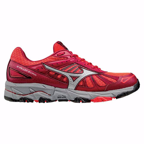 Mizuno Womens Wave Mujin 3 | Pink/Silver/Red