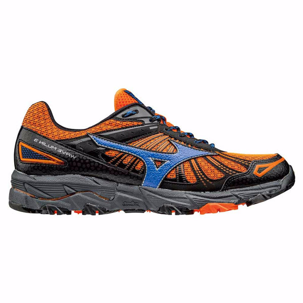 Mizuno Mens Wave Mujin 3 | Orange/Grey