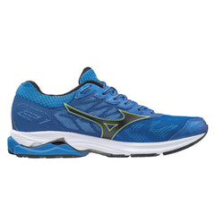 Mizuno Wave Rider 21 Mens | Blue/Black/Yellow