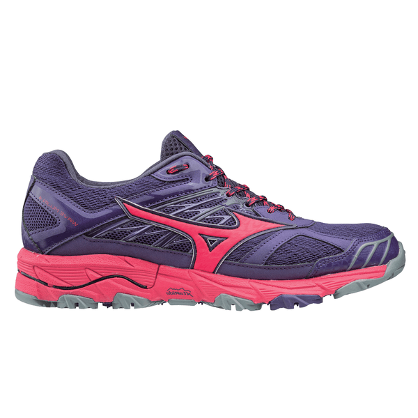Mizuno Wave Mujin 4 Womens | Purple/Azalea/Grey