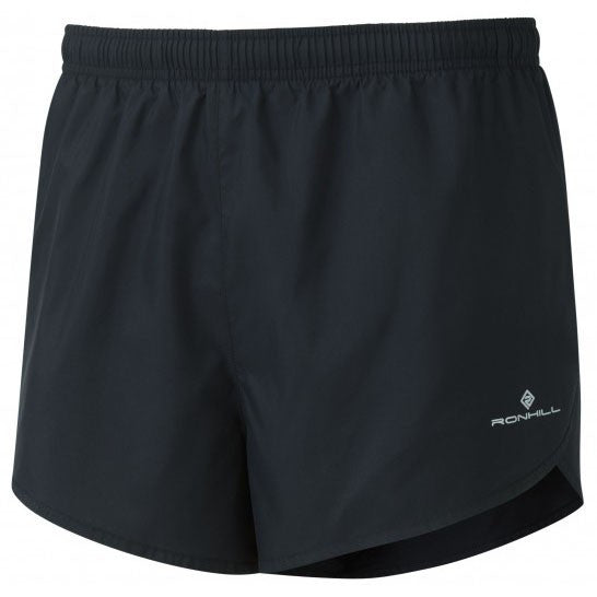 Ronhill Everyday Split Mens Short | Black