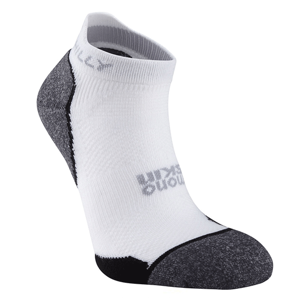Hilly Supreme Socklet | White/Black
