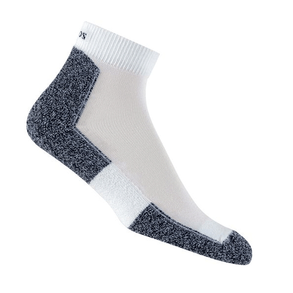 Thorlos Running Sock Mini Crew LRMXM | White
