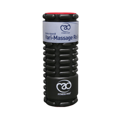 Fitness Mad Vari-Massage Roller 32cm X 12cm Black