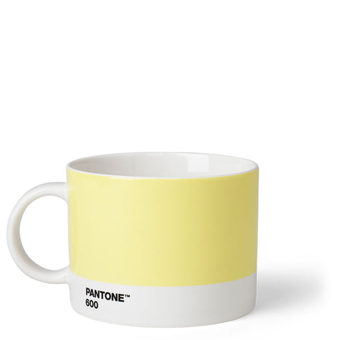 Caneca de chá Pantone™ - Light Yellow 600