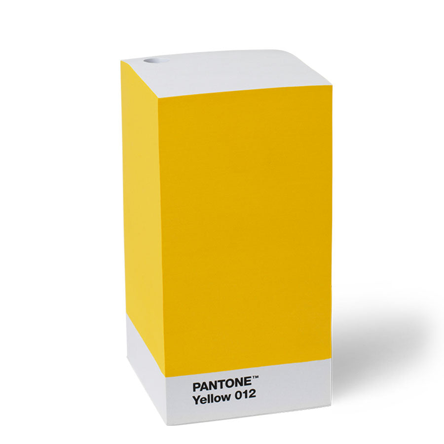 Bloco de notas Pantone™ - Yellow 012