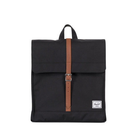 Mochila Herschel City Mid Volume Black/Tan