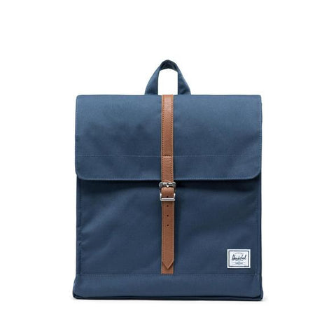 Mochila Herschel City Mid Volume Navy/Tan