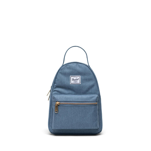 Mochila Herschel Nova Mini Blue Mirage Crosshatch