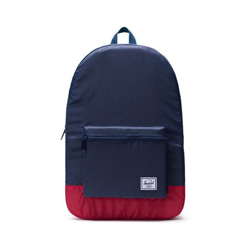 Mochila Herschel Packable Daypack Navy Red