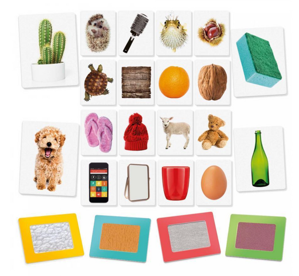 Flash cards tactile - Montessori