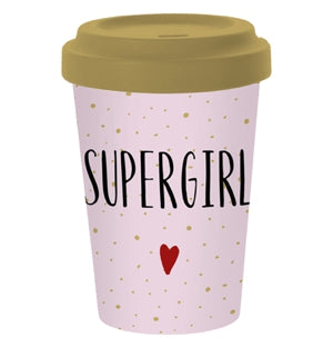 Coffee Cup Supergirl
